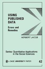 Using Published Data