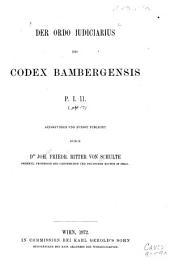 Der Ordo iudiciarius des Codex bambergensis P. I. 11