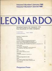LEONARDO  INTERNATIONAL JOURNAL OF THE CONTEMPORARY ARTIST PDF