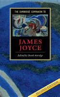 The Cambridge Companion to James Joyce PDF