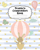 Bunny Primary Composition Book