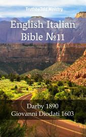 English Italian Bible No11: Darby 1890 - Giovanni Diodati 1603
