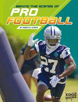 Behind the Scenes of Pro Football PDF