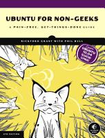 Ubuntu for Non Geeks  4th Edition PDF