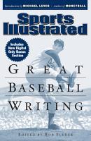 Sports Illustrated Great Baseball Writing PDF