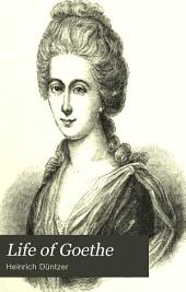 Life of Goethe: Volume 1