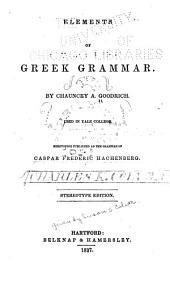 Elements of Greek Grammar