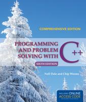 Programming and Problem Solving with C   PDF