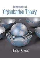 Classics of Organization Theory PDF