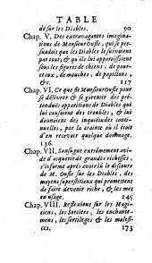 L'histoire des imaginations extravagantes de Monsieur Oufle: causées par la lecture des livres qui traitent de la magie, du grimoire, des démoniaques, sorciers, loups-garoux, etc, Volume2