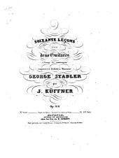 60 leçons: pour 2 guitarres à l'usage des commençans ; op. 168