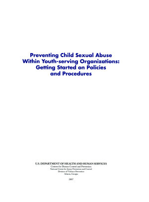 Preventing Child Sexual Abuse Within Youth serving Organizations PDF