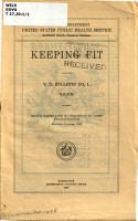 Keeping Fit PDF