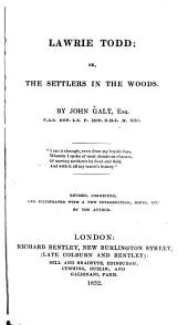 Lawrie Todd ; Or, The Settlers in the Woods