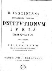 DN. Justin. Institutionum juris libri Quatuor