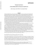 Moving Forward Faster PDF