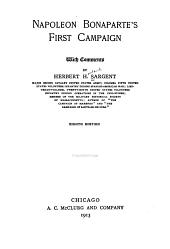 Napoleon Bonaparte's First Campaign