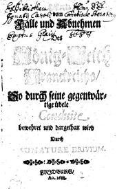 Historia vom Falle und Abnehmen Des König-Reich Franckreichs, So durch seine gegenwärtige übele Conduite bewehret und dargethan wird