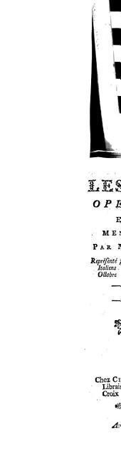 Les Sabots: Opera-Comique En Un Acte, Meslée D'Ariettes