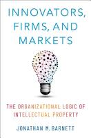 Innovators  Firms  and Markets PDF