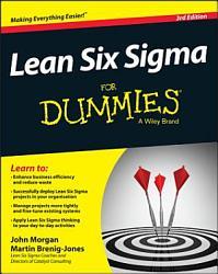Lean Six Sigma For Dummies Book PDF