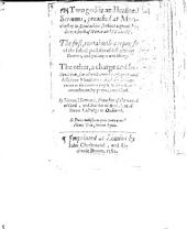 Two godlie and learned Sermons, preached at Manchester. ... The first [on Rom. x. 9] containeth a reproofe of subtill practises of dissembling neuters, and politique worldlings. The other, a charge and instruction for all unlearned ... and dissolute ministers, etc