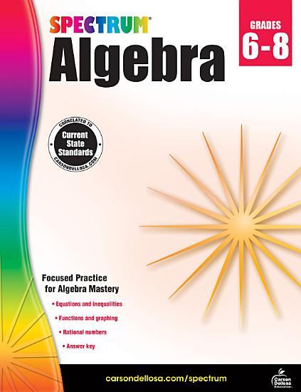 Spectrum Algebra PDF