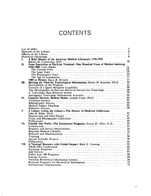 National Library of Medicine programs and services. 1976