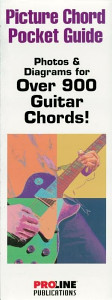 Picture Chord Pocket Guide (Music Instruction) Book