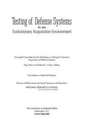 Testing of Defense Systems in an Evolutionary Acquisition Environment