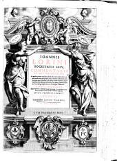 Ioannis Lorini Societatis Iesu, Commentarii in Deuteronomium. In quibus præter exactam sensus litteralis explanationem, variarum tum editionum, tum lectionum collationem cum vulgata, quæ defenditur, phraseōn etiam Scripturæ, atque vocabulorum disquisitionem, mystici omnis generis sensus ex patribus, praecipuè Græcis Latinisque traduntur: Ioannis Lorini ... Tomus secundus. Cum indicibus, locorum sacræ Scripturæ, vocum Hebraicum Græcarumque, rerum item & verborum copiosis, Volume 2