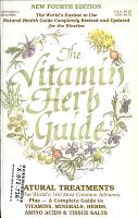 The Vitamin   Herb Guide PDF