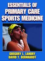 Essentials of Primary Care Sports Medicine PDF