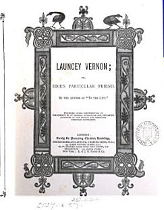 Launcey Vernon  Or  Edie s Particular Friend PDF
