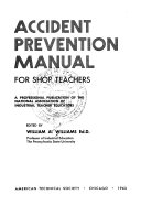 Download Accident Prevention Manual for Shop Teachers Book