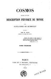 Cosmos: essai d'une description physique du monde, Volume1
