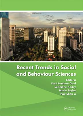 Recent Trends in Social and Behaviour Sciences PDF