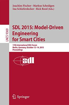 SDL 2015  Model Driven Engineering for Smart Cities PDF