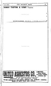 The Railway News ...: Volume 82
