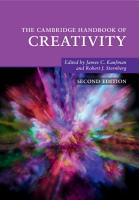 The Cambridge Handbook of Creativity PDF