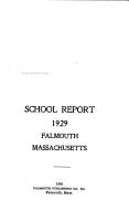 School Report     Falmouth  Massachusetts PDF