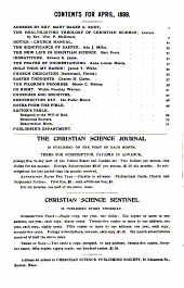 The Christian Science Journal: Volume 17, Issues 1-6
