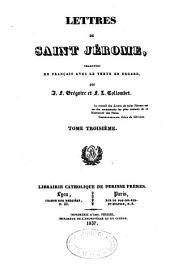 Oeuvres choisies de St Jérôme