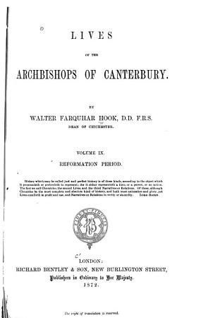 Lives of the Archbishops of Canterbury  Middle age period PDF