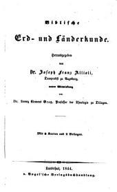 Handbuch der biblischen Alterthumskunde