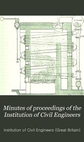 Minutes of Proceedings of the Institution of Civil Engineers: Volume 54