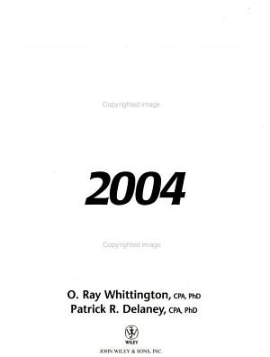 Wiley CPA Examination Review 2004  Auditing and Attestation PDF