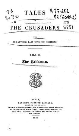 Tales of the Crusaders PDF