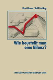 Wie Beurteilt Man Eine Bilanz?: Ausgabe 17