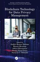 Blockchain Technology for Data Privacy Management PDF